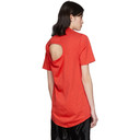 Martine Rose Red Front Seam Lacksley T-Shirt