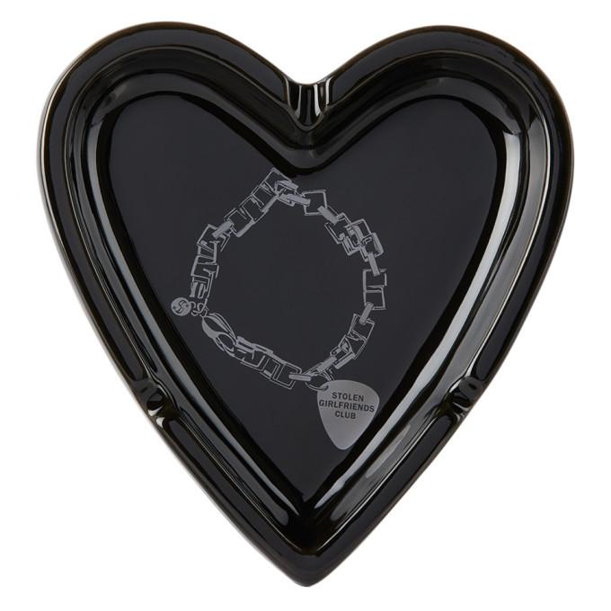 Photo: Stolen Girlfriends Club Black Death Metal Bracelet Heart Ashtray