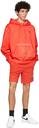 Helmut Lang Red Military Hoodie