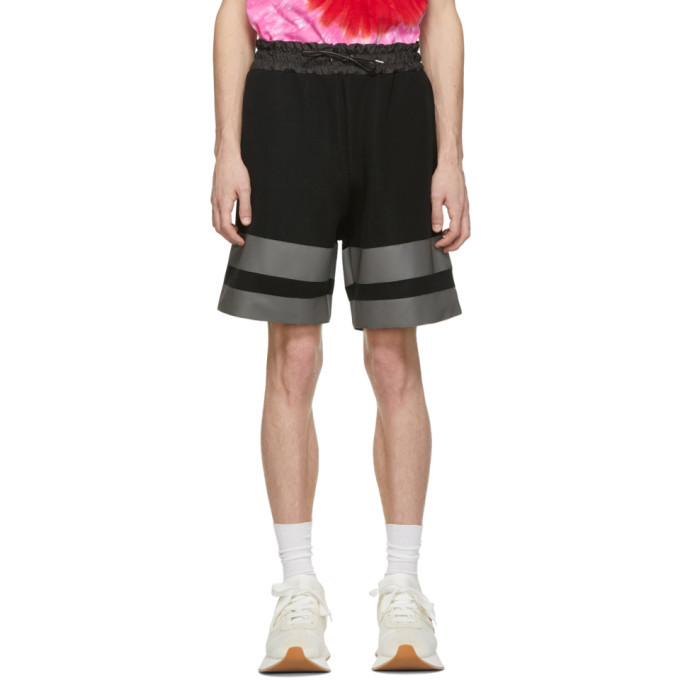 Photo: Sacai Black Sponge Sweat Shorts