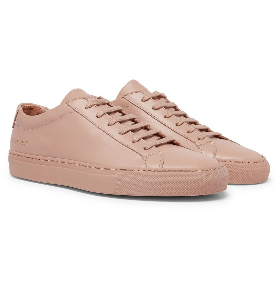 Common Projects - Original Achilles Leather Sneakers - Men - Pink