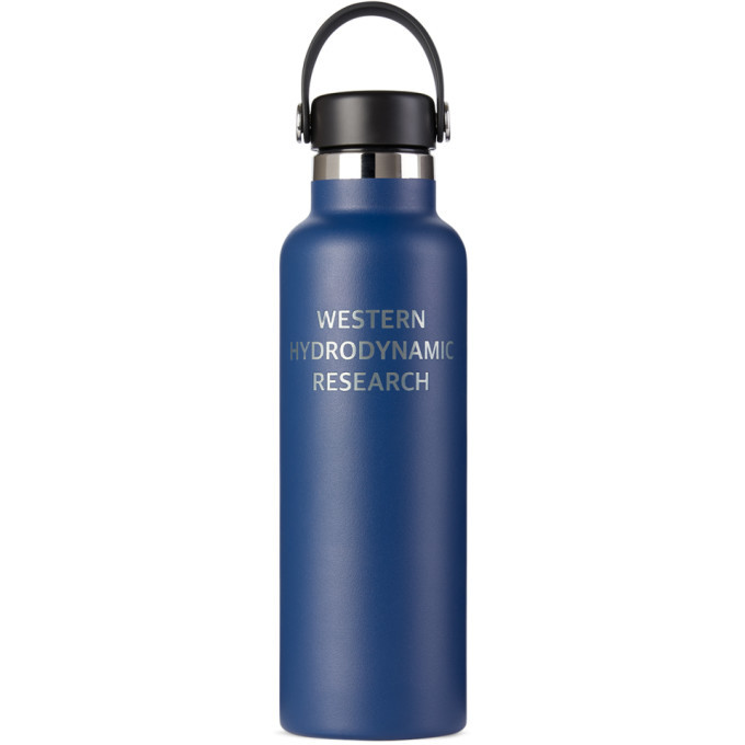 Photo: Western Hydrodynamic Research Navy Hydroflask Edition Bottle, 12 oz