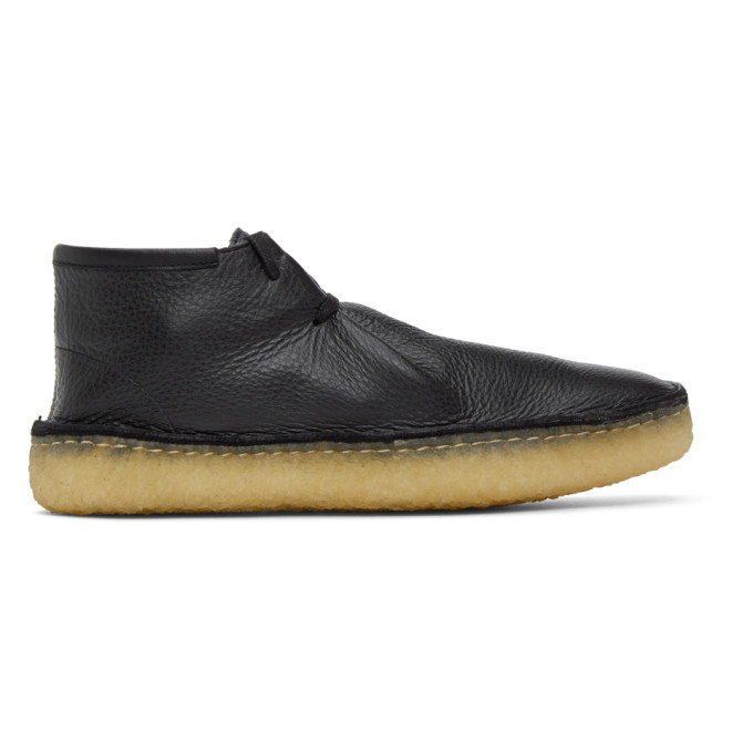 Photo: Lemaire Black Laced Desert Boots