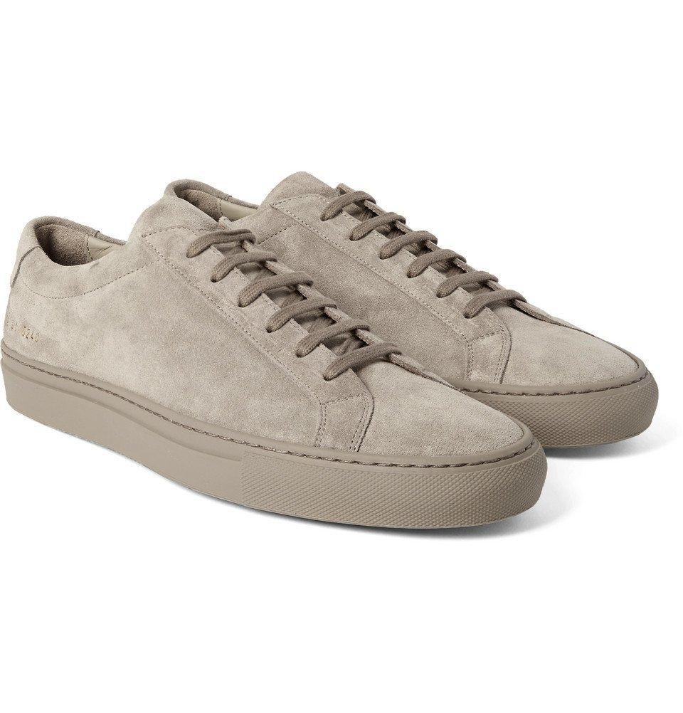 Common Projects - Original Achilles Suede Sneakers - Men - Gray