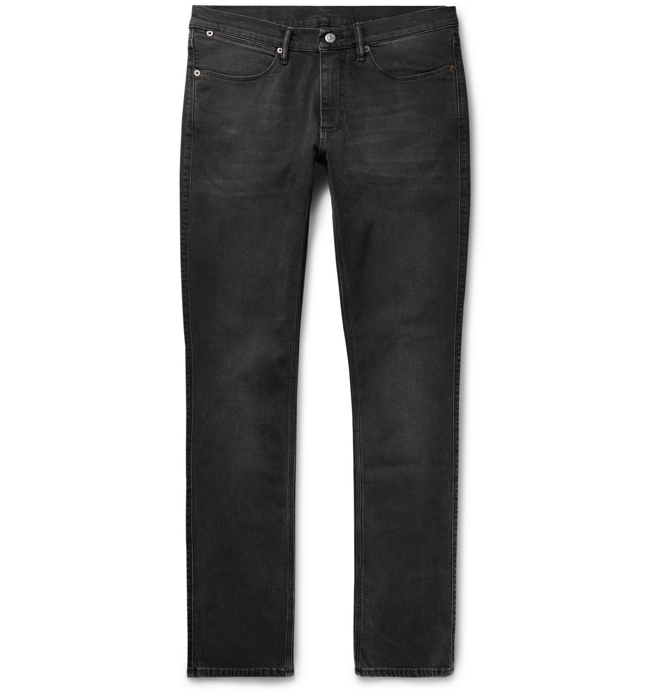 Photo: Acne Studios - Slim-Fit Stretch-Denim Jeans - Black