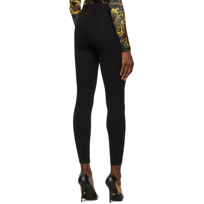 Versace Jeans Couture Black Skinny Trousers