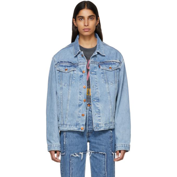 Photo: Vetements Blue Levis Edition Denim Oversized Jacket