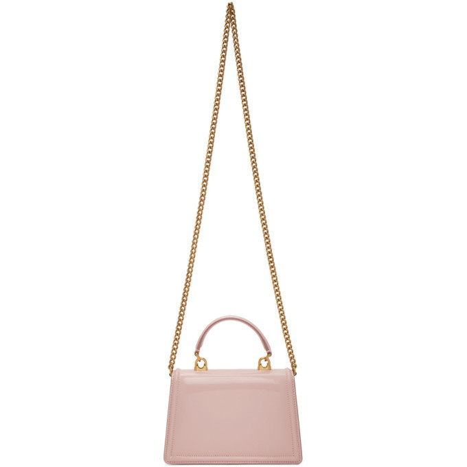 Dolce and Gabbana Pink Small Devotion Bag
