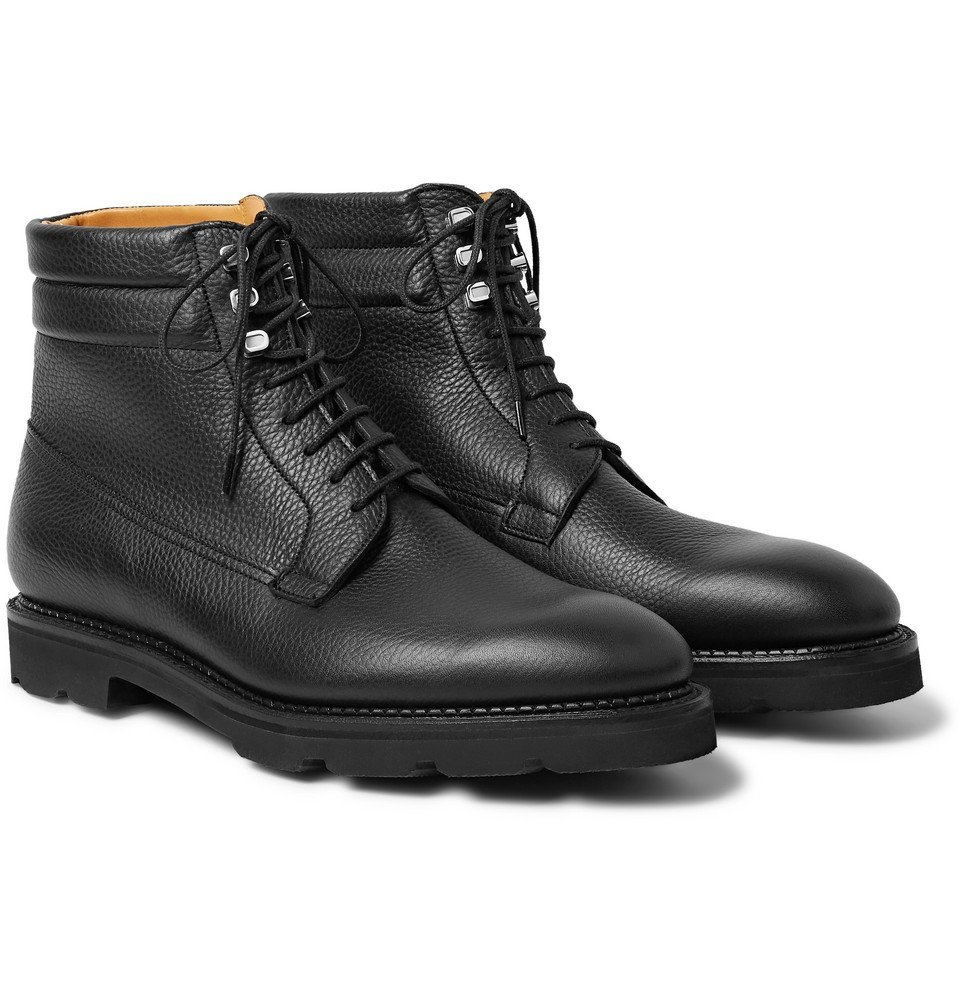 Photo: John Lobb - Alder Full-Grain Leather Boots - Black