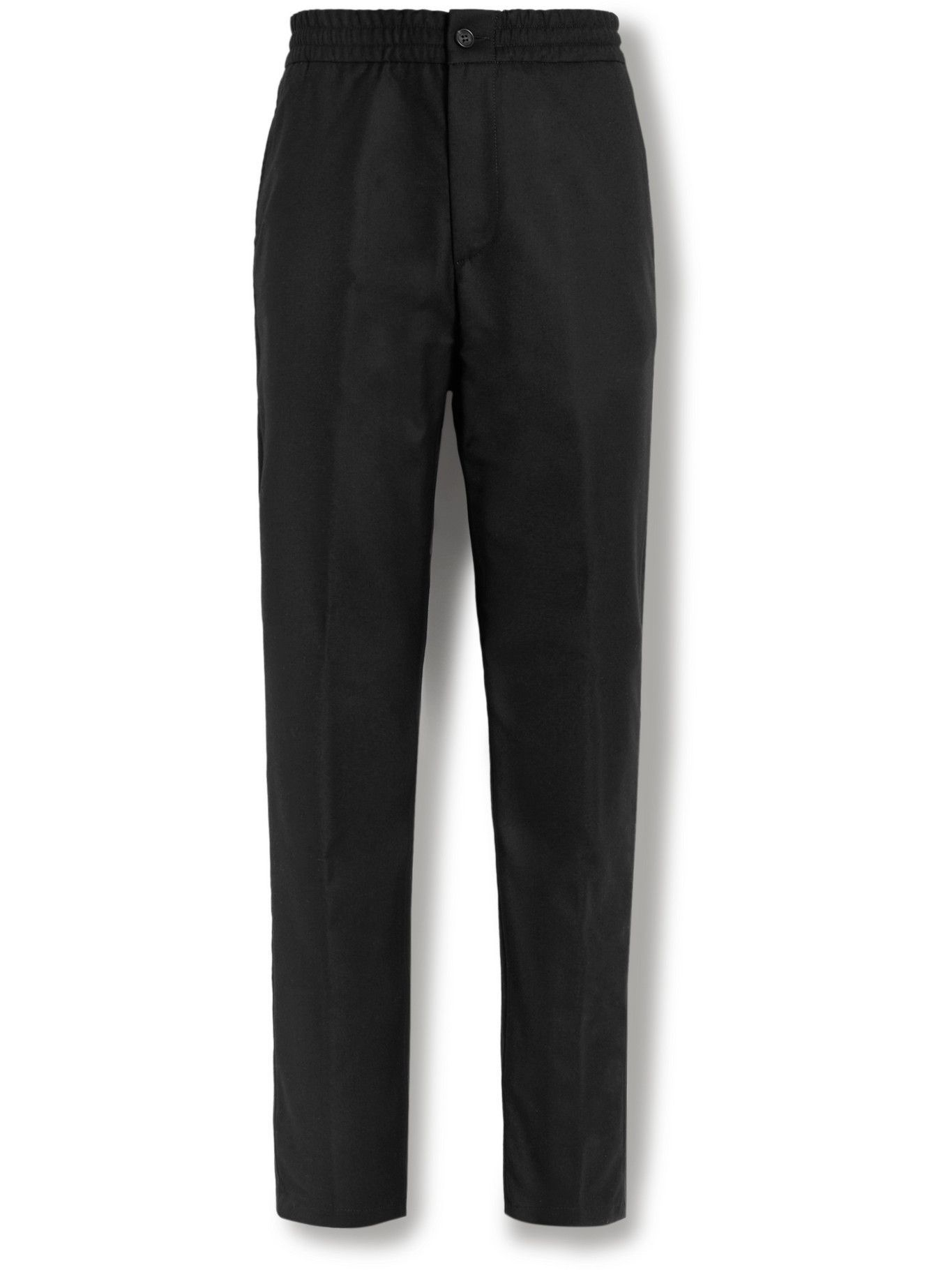 Dunhill - Wool-Flannel Trousers - Black