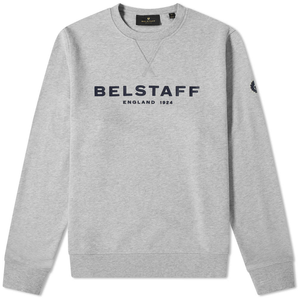 Photo: Belstaff 1924 Logo Crew Sweat