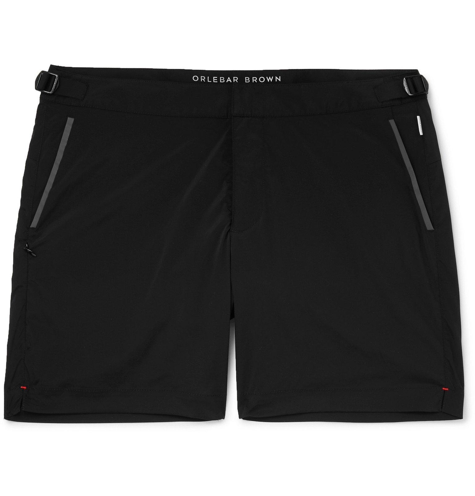 Photo: Orlebar Brown - Bulldog Mid-Length Swim Shorts - Black