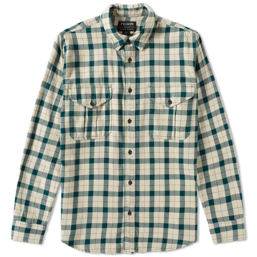 Photo: Filson Lightweight Alaskan Guide Shirt Green
