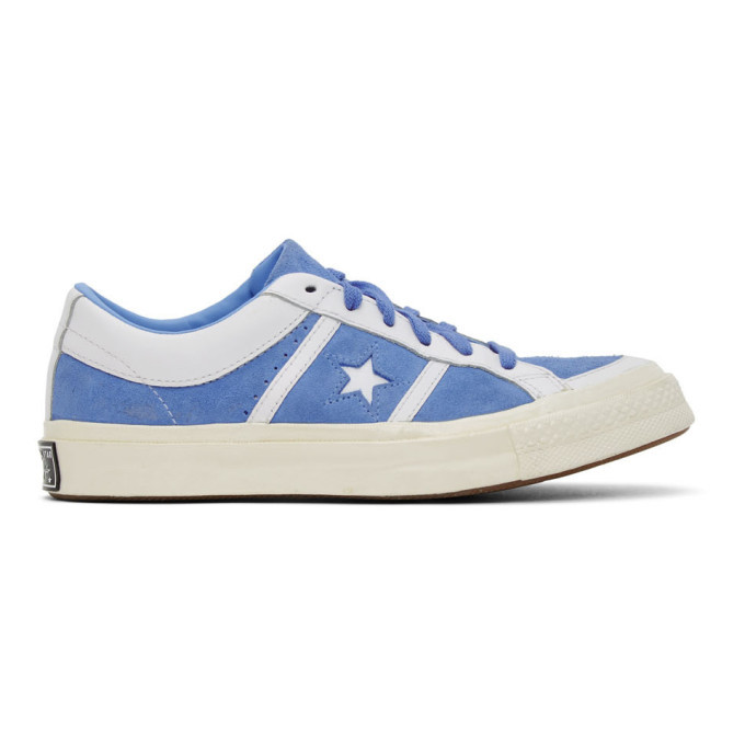 Photo: Converse Blue One Star Academy OX Sneakers