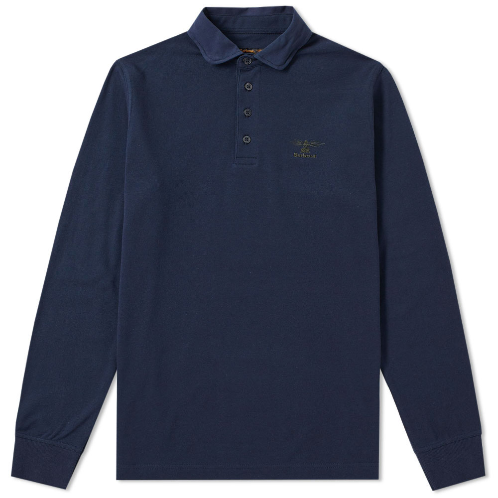 Photo: Barbour Long Sleeve Standard Polo