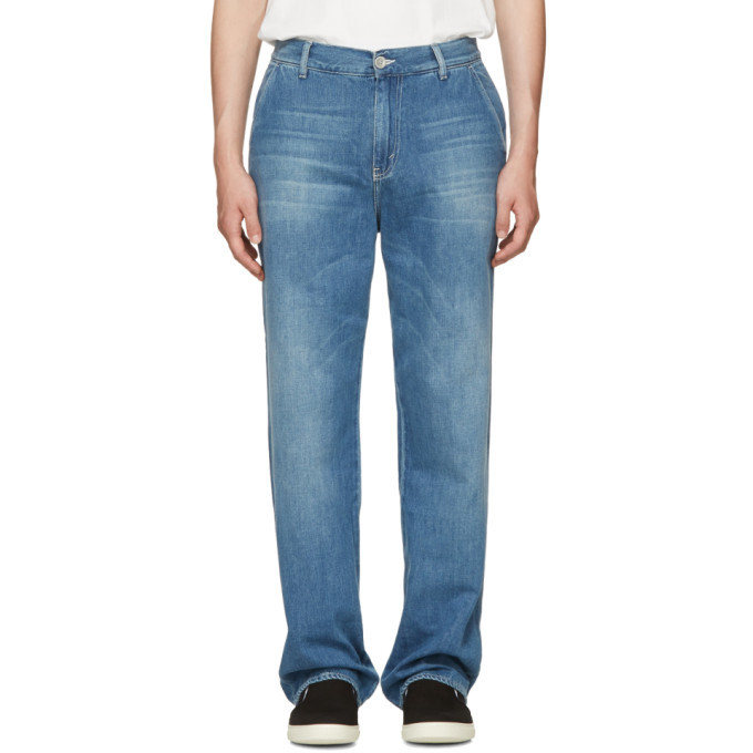 Photo: Our Legacy Blue Denim Chino Jeans