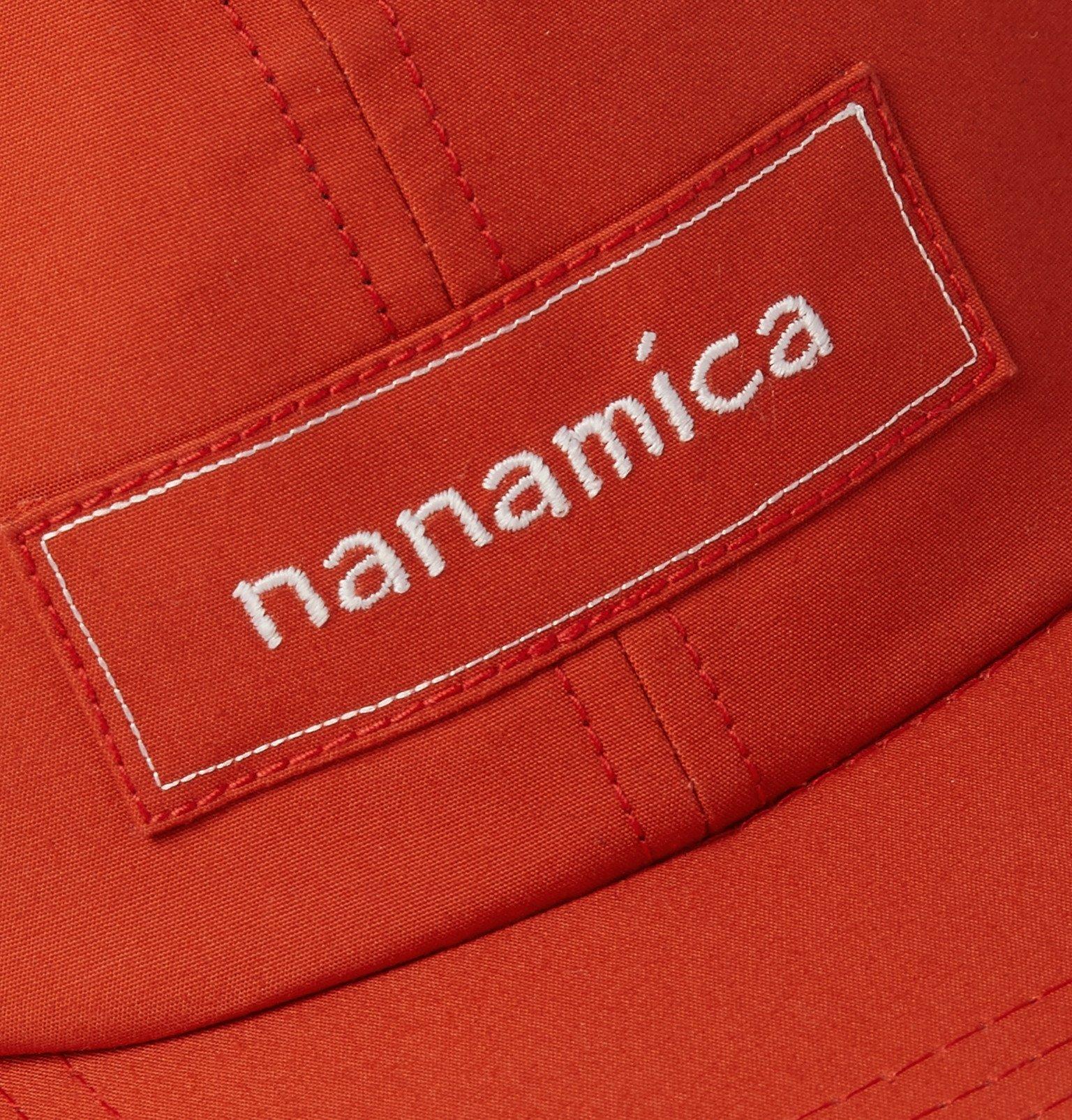 Photo: nanamica - Logo-Embroidered GORE-TEX® Cap - Orange