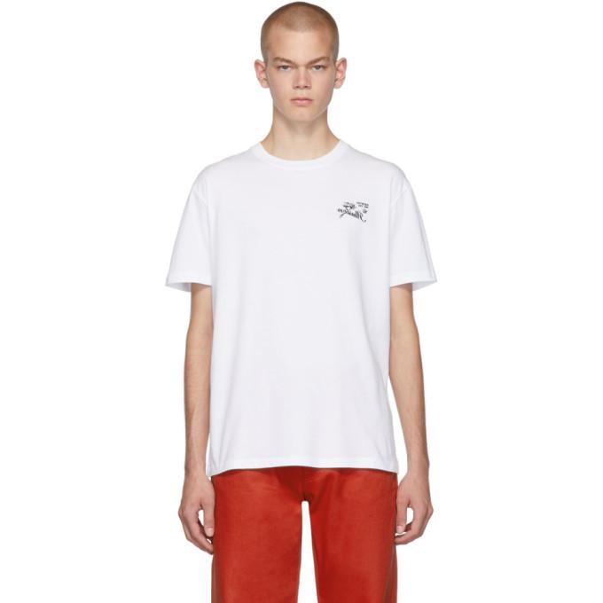 Raf Simons White Illusion Slim-Fit T-Shirt