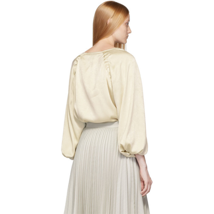Lemaire Off-White Loose Collar Top