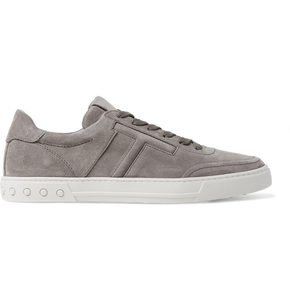 Tod's - Suede Sneakers - Men - Gray