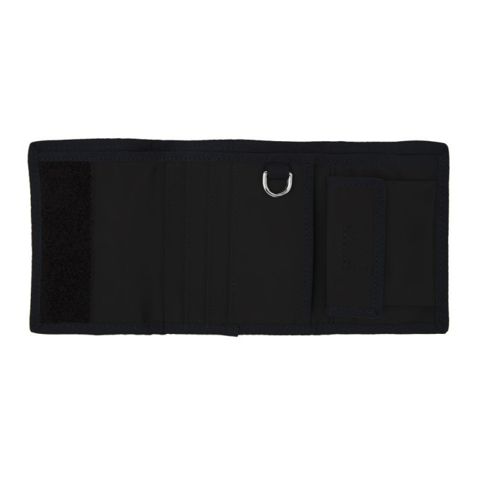 PS by Paul Smith Navy Check Chunky Trifold Wallet