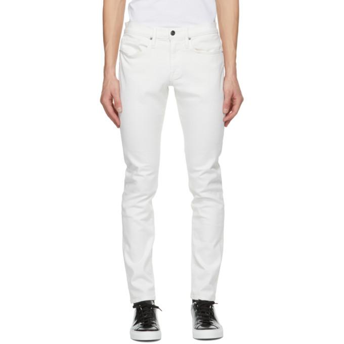 Photo: Frame White LHomme Slim Jeans