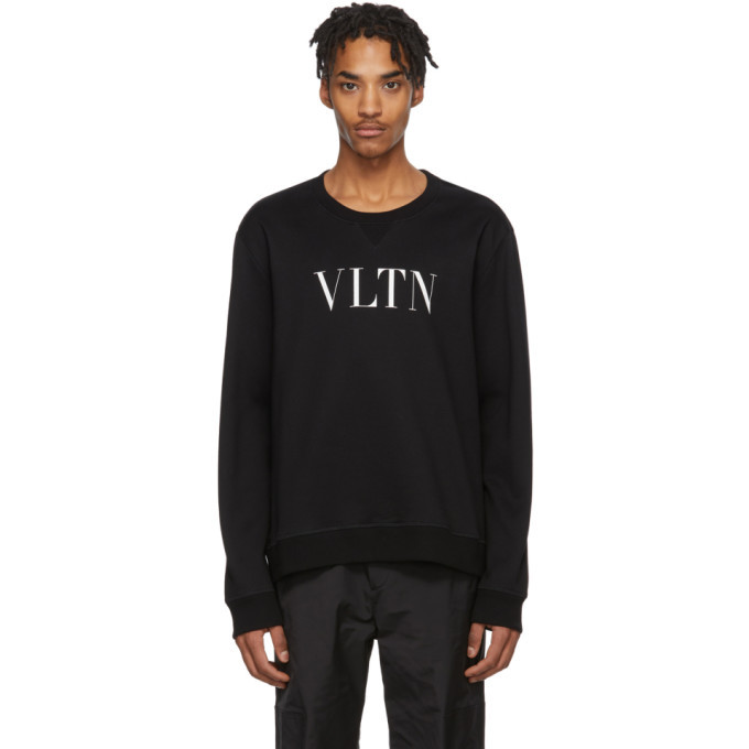 Photo: Valentino Black and White Logo Sweatshirt