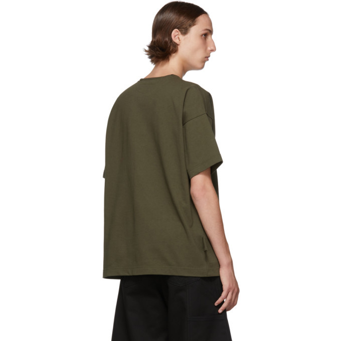 Bottega Veneta Green Boxy T-Shirt