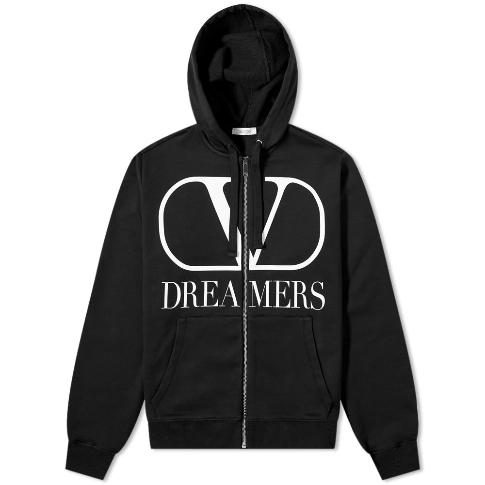 Photo: Valentino V Dreamers Logo Zip Hoody