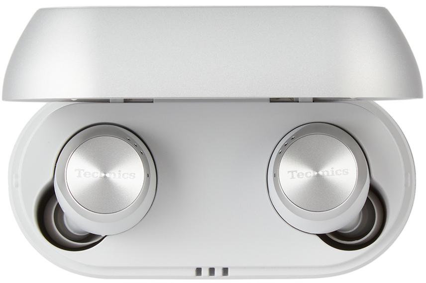 Photo: Technics Silver AZ70 Earphones