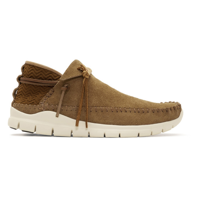 Photo: Visvim Brown Folk Trainer Moccasins