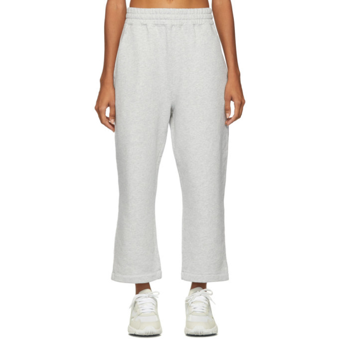 Photo: alexanderwang.t Grey Heavy French Terry Lounge Pants