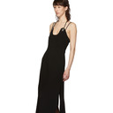 3.1 Phillip Lim Black Crepe Midi Dress
