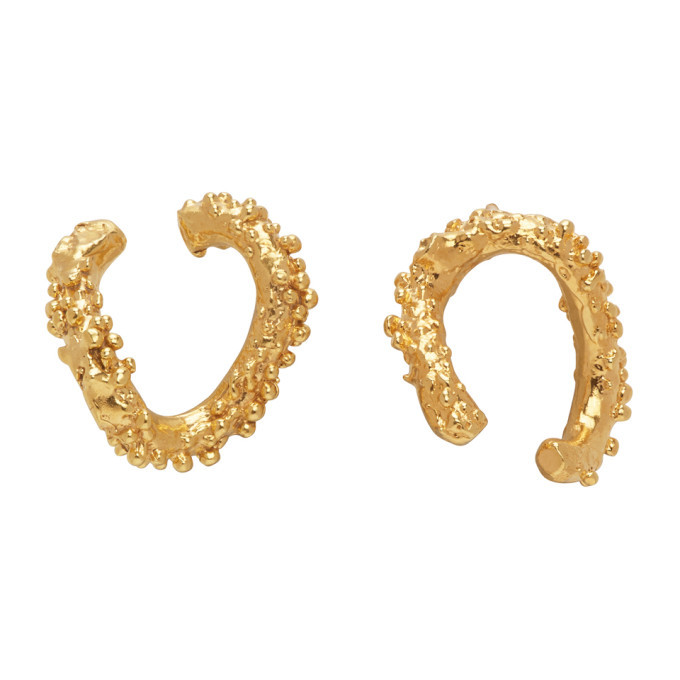 Alighieri Gold The Night Shift Earrings