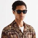 Oliver Peoples - Oliver Sun Square-Frame Acetate Polarised Sunglasses - Burgundy