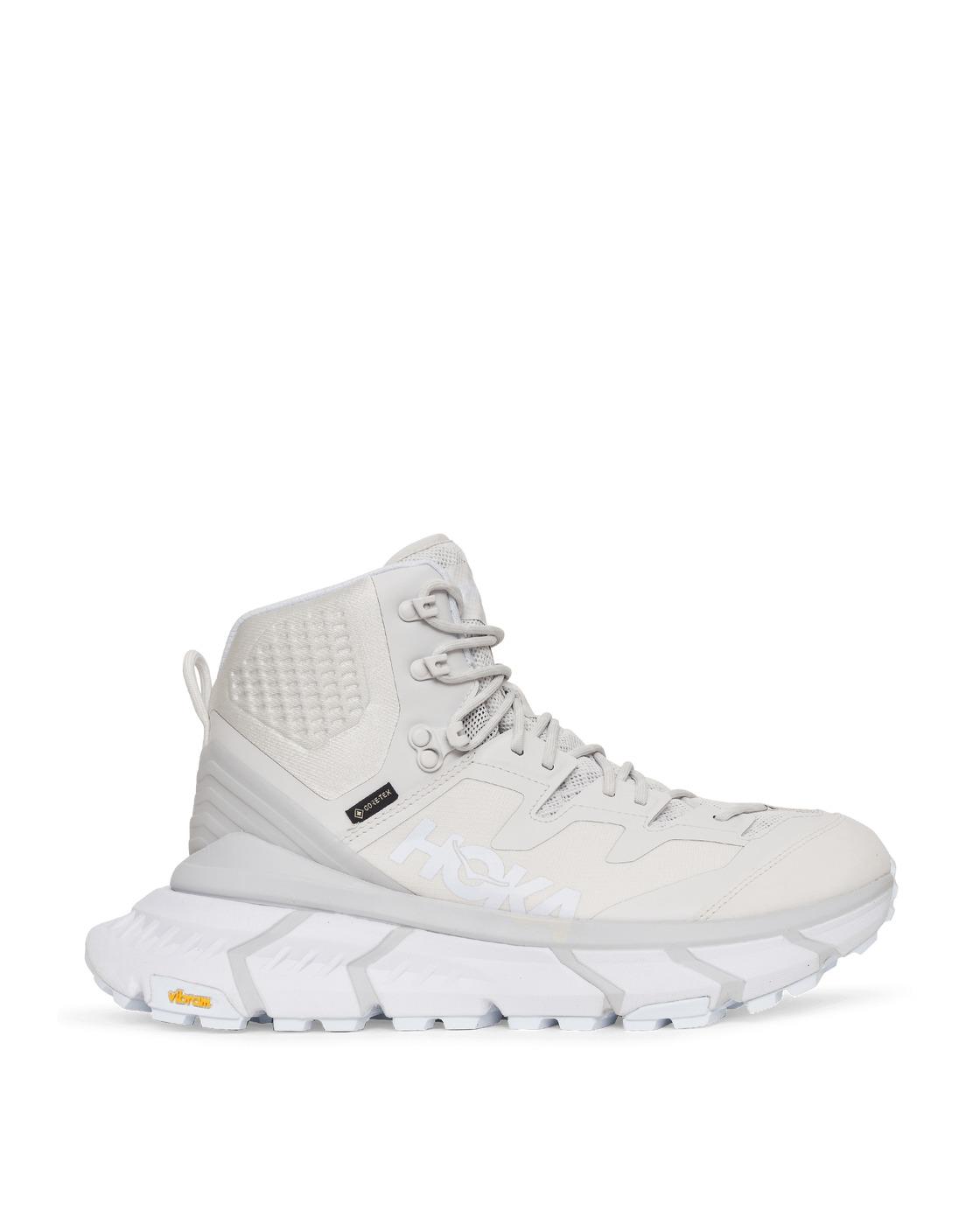 Photo: Hoka One One Tennine Hike Gtx Sneakers White/Nimbus Cloud