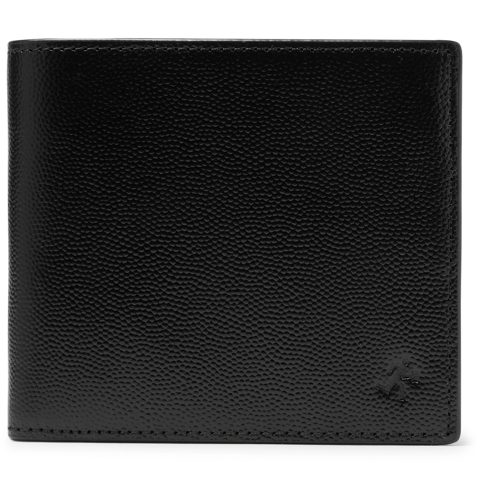Photo: WANT LES ESSENTIELS - Full-Grain Leather Billfold Wallet - Black