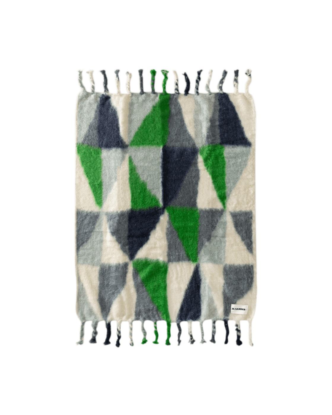 Photo: Jil Sander Color Block Blanket Open Miscellan
