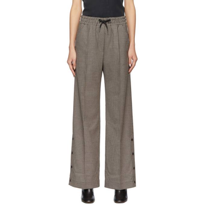 Won Hundred Brown Houndstooth Anisa Trousers