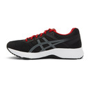 Asics Black and Red Gel-Contend 5 Sneakers