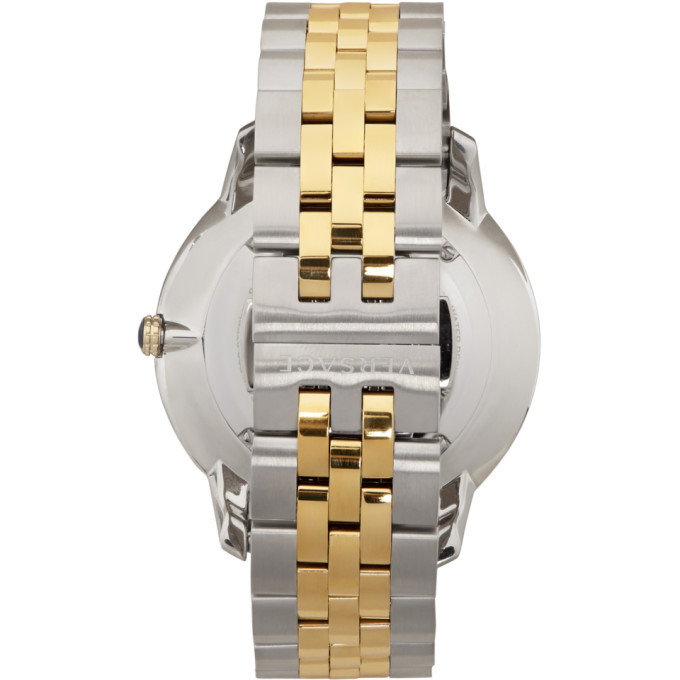Versace Gold and Silver V-Urban Watch