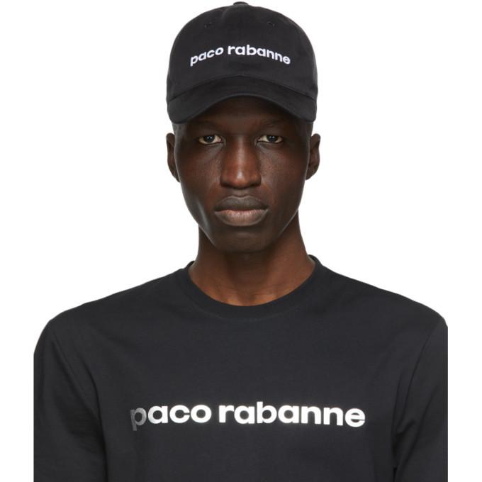 Photo: Paco Rabanne Black Tex Logo Cap