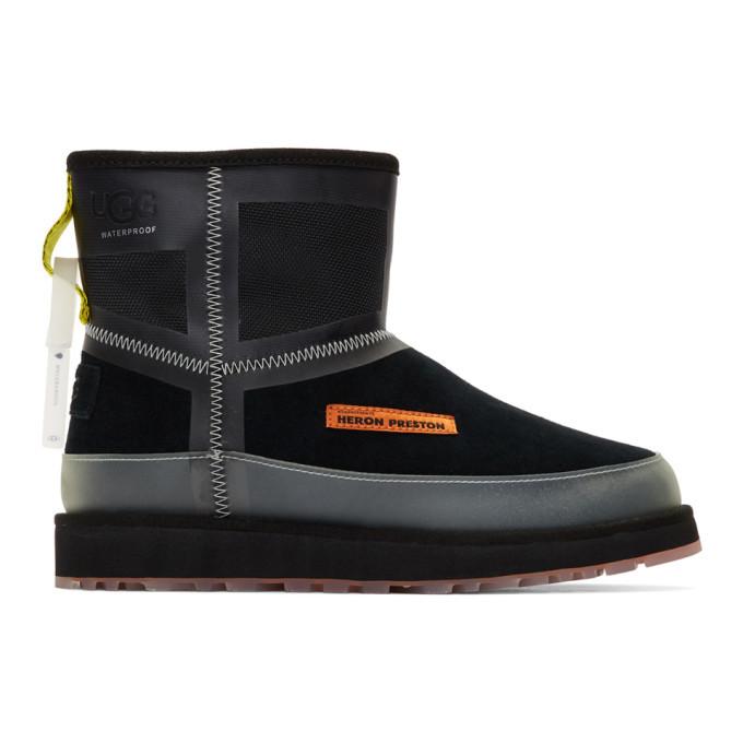 Photo: Heron Preston Black UGG Edition Urban Tech Boots