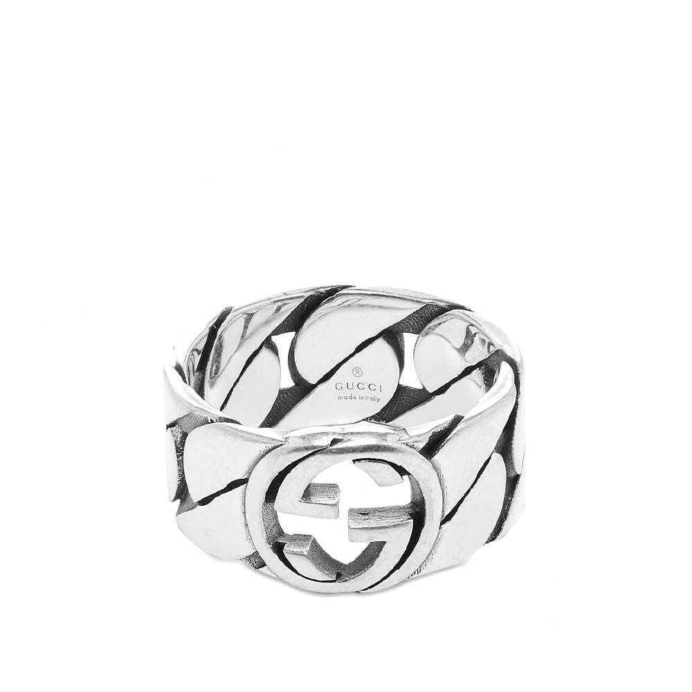 Photo: Gucci Interlocking G Gourmette Ring 10mm