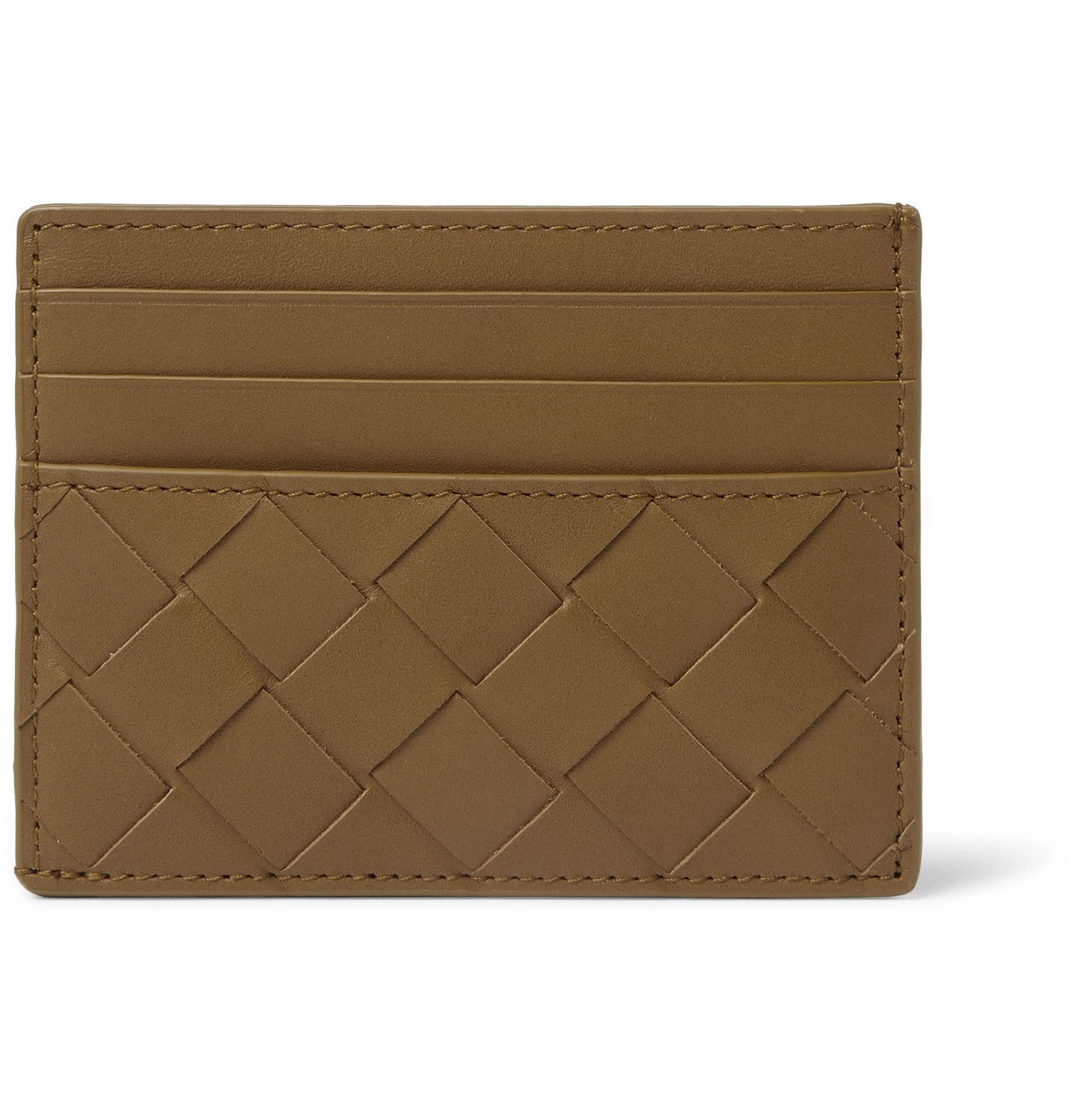 Photo: Bottega Veneta - Intrecciato Leather Cardholder - Yellow