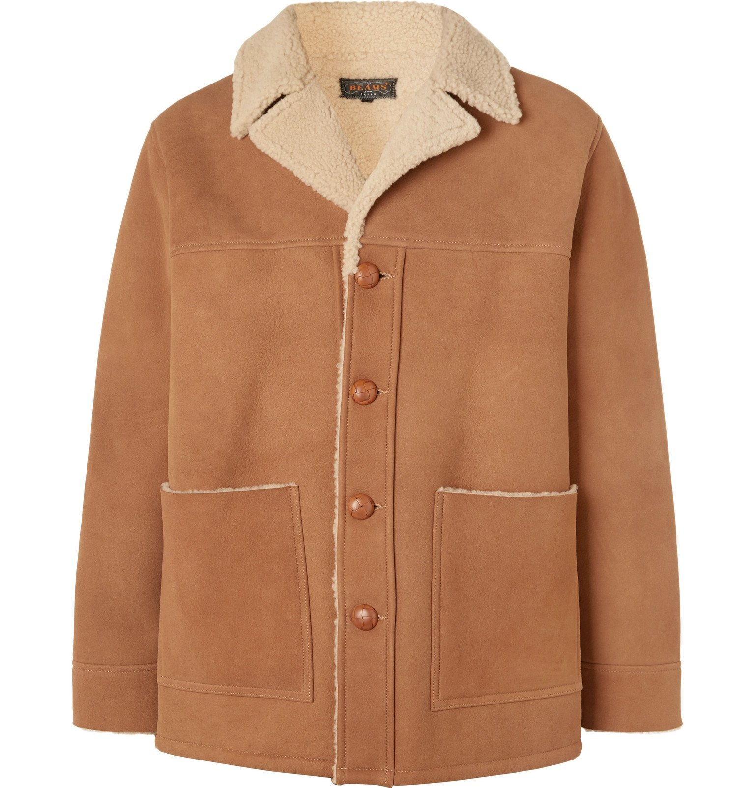 Photo: Beams Plus - Shearling Coat - Brown