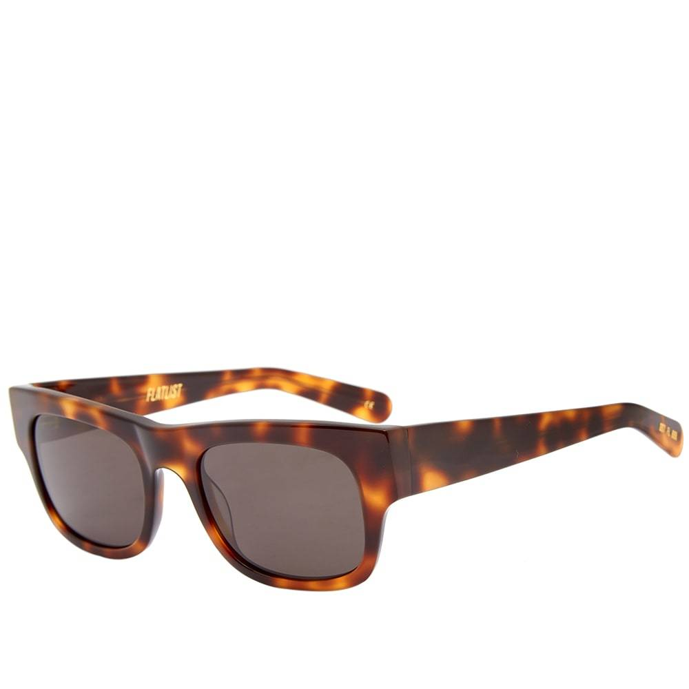 Photo: Flatlist Flat Sunglasses Tortoise & Solid Black