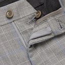 GIORGIO ARMANI - Prince of Wales Checked Wool Suit Trousers - Gray - IT 46