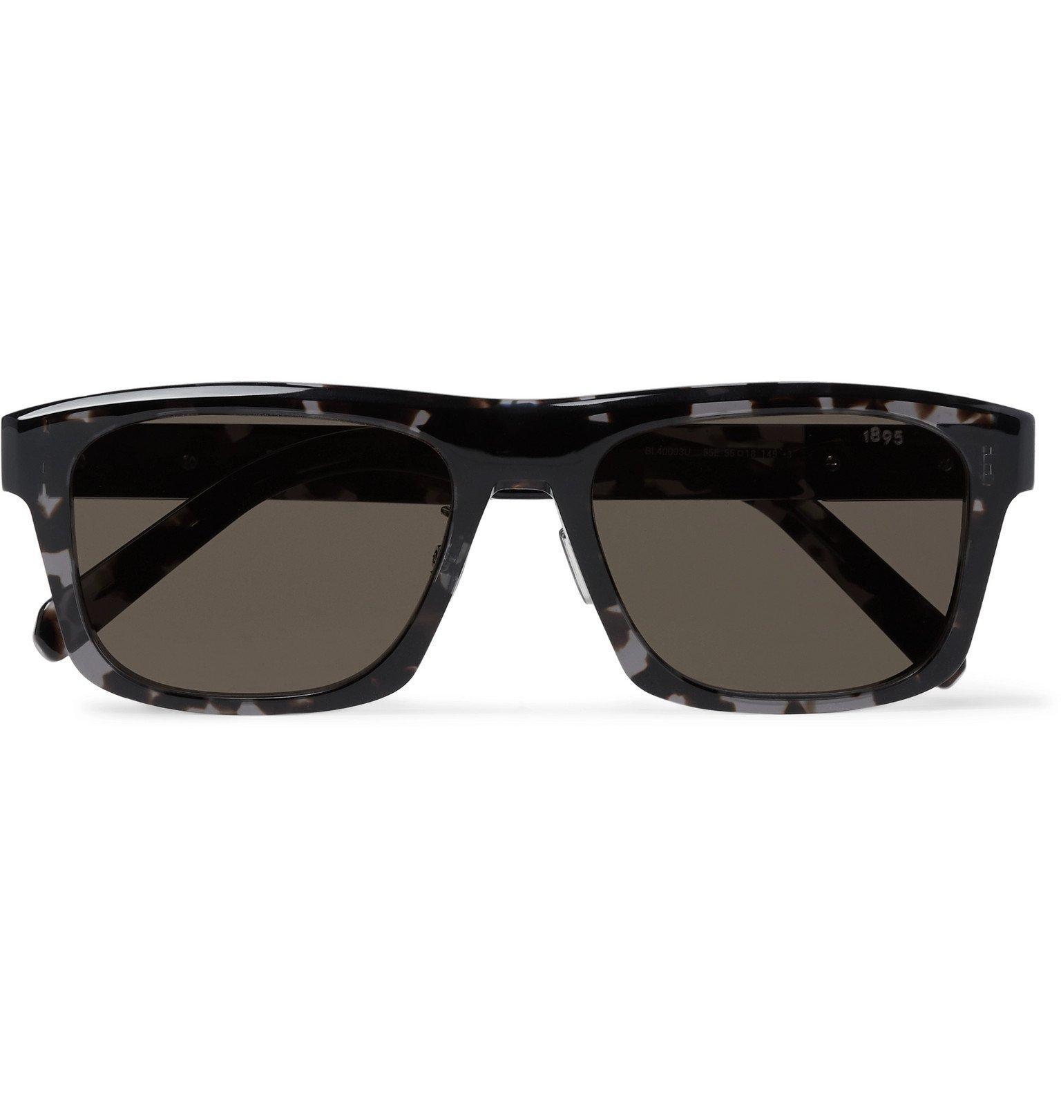 Photo: Berluti - Square-Frame Tortoiseshell Acetate Mirrored Sunglasses - Tortoiseshell