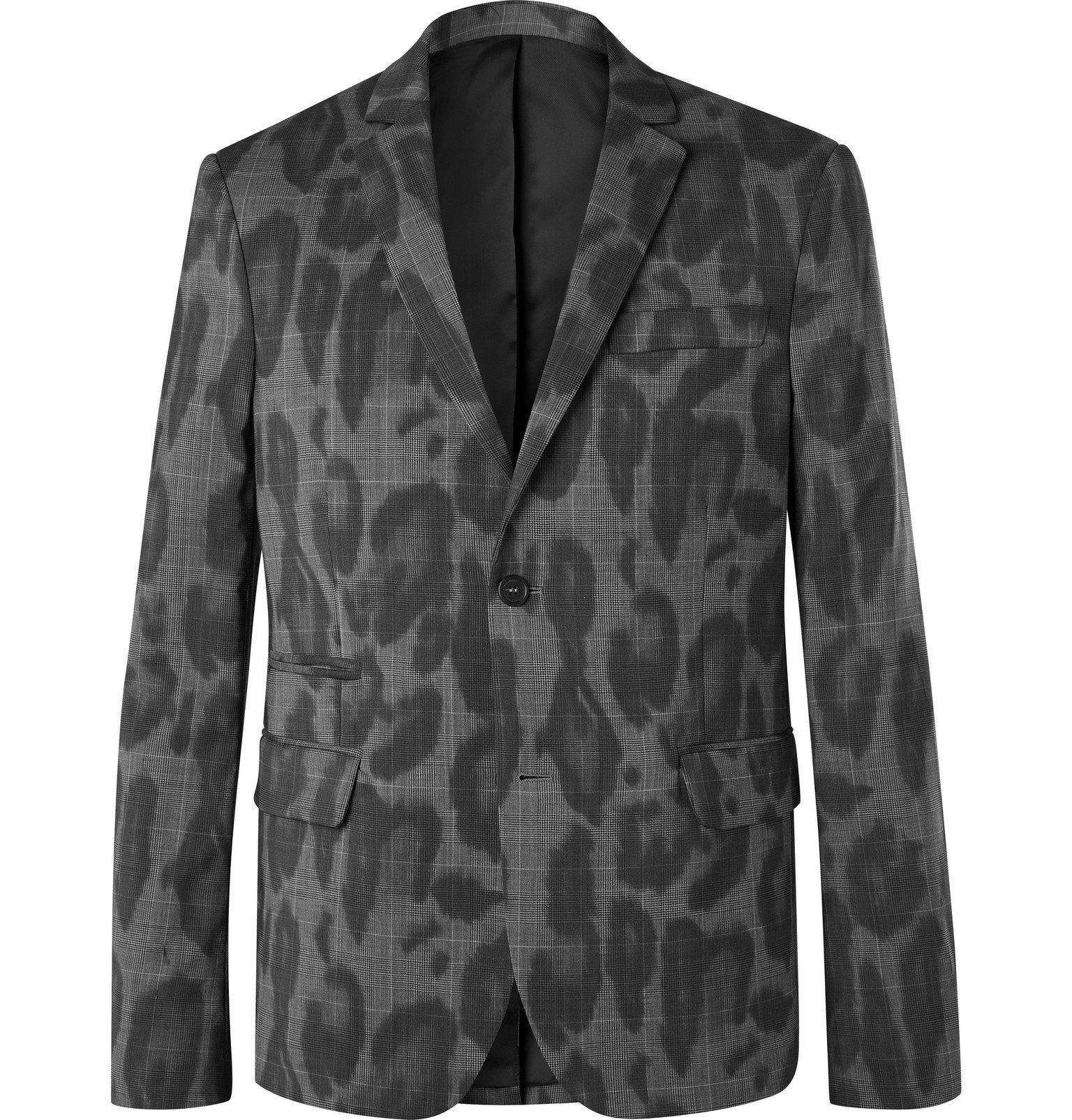 Stella McCartney - Bobby Printed Wool Suit Jacket - Gray